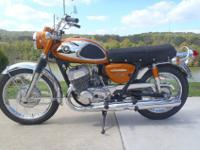 As you can see from the pictures the bike is