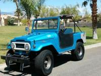 1968 Toyota FJ40 Land Cruiser that the previous