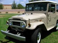 *** This early FJ 40 Cruiser is an initial Arizona