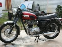 1968 Triumph Bonneville, fully restored-Engine, chasis,