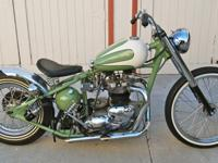 1968 Triumph T120 Bonneville Hardtail BobberSince the