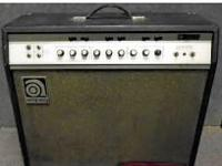1968 AMPEG VINTAGE AMP....Great condition..Owned by me