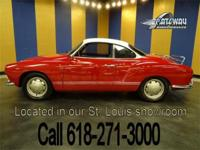 Up for sale is a 1968 Volkswagen Karmann Ghia. This
