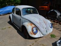 I got this 68 Beetle in trade and don't know a whole