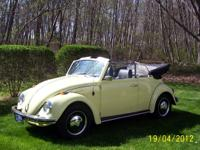 1968 VW Convertible-Yukon Yellow(Factory color for that