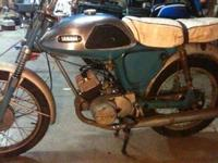 1968 Yamaha twin jet motorcycle for sale. Needs some