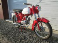 1968 ZUNDAPP KS 50CC 4 SPEED FULLY RESTORED AND IN