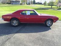 1968 Chevrolet Camaro (PA) - $29,900 Red exterior with