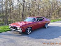 GORGEOUS FRESHLY RESTORED 1968 CHEVELLE WITH SS TRIM
