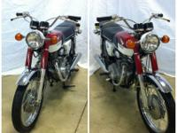 ###### 1968 pre-production prototype Honda CB350. This