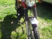 Great project bike!! 1968 Honda CL350 Scrambler with