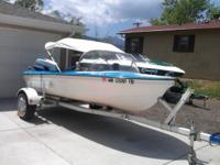 1968 Vintage 14ft Sea Crest boat with Evinrude 55 HP