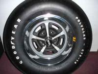 For Sale is 5 Chevelle Rally Wheels with G70-14