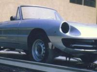 This is an US design (105.62 Series) Alfa Rome Spider