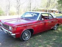 1969 AMC REBEL (VA) - $15,000 THE 343, 4 BARREL IS
