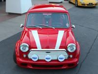 1969 Austin Mini Cooper. 1969 Mini Cooper. Fully custom