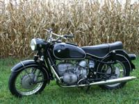 all initial 1969 BMW R60/2. This bike has a truthful
