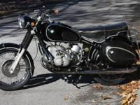 I bought this BMW R69S virtually 42 years ago from its