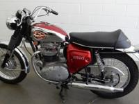 1969 BSA Lightning 650 A7, Classic cool. The BSA