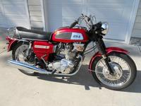 Superb example of a matching numbers BSA Rocket 3 with