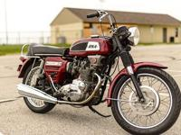This bike has never been restored but rather just
