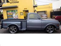 1969 chevy c10 A great head turner everywhere you go. .
