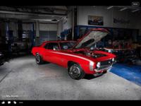 Hi this is a 1969 SS Camaro 396 big block 4sp car with