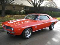 1969 Camaro Yenko Clone recovered 41/2 years earlier,