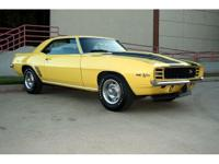 1969 Z28 Camaro with 41k miles. This car is loaded with