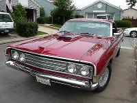 Disorder: Used. Exterior colour: 1969 Ford Candy Apple