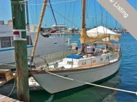 This 1969 Cheoy Lee Rhodes Offshore 40 Sloop is in