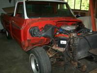 1969 chev pick-up S10, 1/2 ton 350 V-8.  Truck mostly a