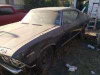 1969 Malibu. 2 door, automatic, a 307 with some