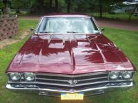 1969 CHEVELLE SS NOT ORIGNAL IT HAS ABOUT 35,000 OR