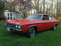 1969 Chevelle SS 396 This car has been restored top to