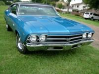 1969 CHEVROLET CHEVELLE SS 396 350 HP with matching