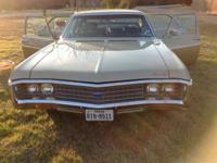 1969 Chevrolet Bel Air Excellent condition, new tires,