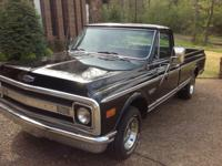 SIMPLY AN AMAZING TRUCK:      ALL ORIGINAL EXCEPT FOR