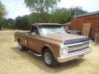 1969 Chevrolet C20 in Excellent Condition Camper