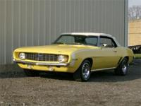 Just in is this very nice and very desirable Camaro