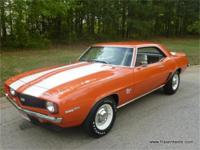 A top desirable collectable is the 1969 Camaro