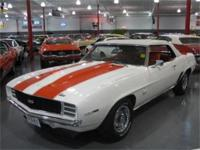1969 CHEVROLET CAMARO SS PACE CAR CONVERTIBLE WITH A