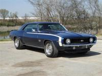 1969 CHEVROLET CAMARO SS. THIS CAMARO HAS A 396 CI