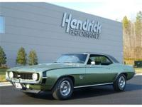 This 1969 Chevrolet Camaro SS features a 396 V8 325HP