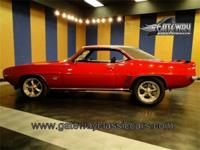 Great looking 1969 Chevrolet Camaro SS clone is very