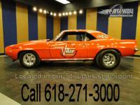 For sale is a true American muscle car, a 1969