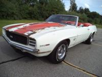 1969 CHEVROLET CAMARO PACE CAR CONVERTIBLE 396 4 SPEED,