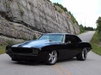 1969 Chevrolet Camaro Black with Only Test Miles On An