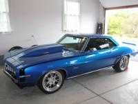 1969 Chevrolet Camaro - completely fresh, ground-up