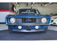 The Legendary 1969 COPO Camaro is known as one of the